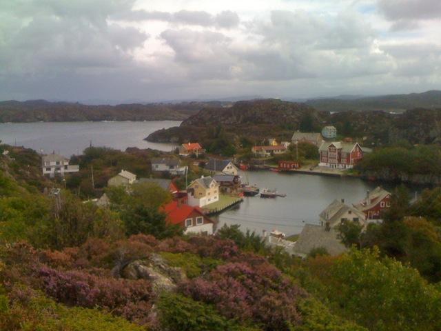 Espevær village